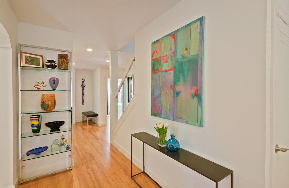 Painting Baseboards for a Contemporary Hall with a Baseboards and Maywood Ave. Home, Ann Arbor by Studio Z Architecture