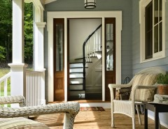 Pallet Flooring for a Traditional Porch with a Country and Crisp Architects by Crisp Architects