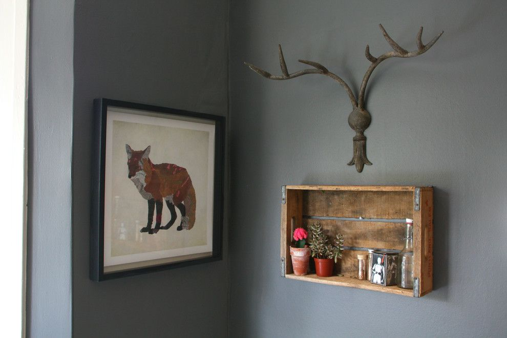 Pallet Shelf for a Eclectic Spaces with a My Houzz and My Houzz: San Francisco by Shannon Malone