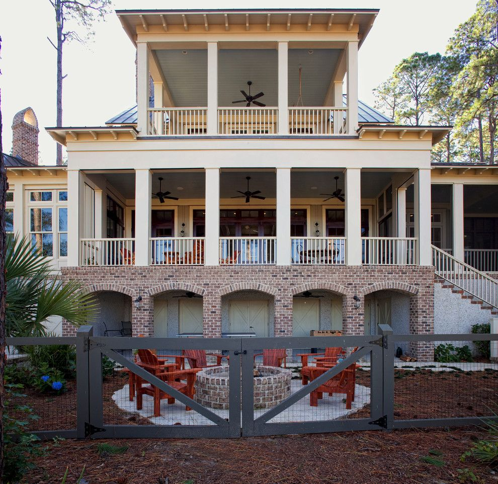 Palmetto Exterminators for a Beach Style Exterior with a Beige Siding and Palmetto Bluff   Jackfield by Court Atkins Group