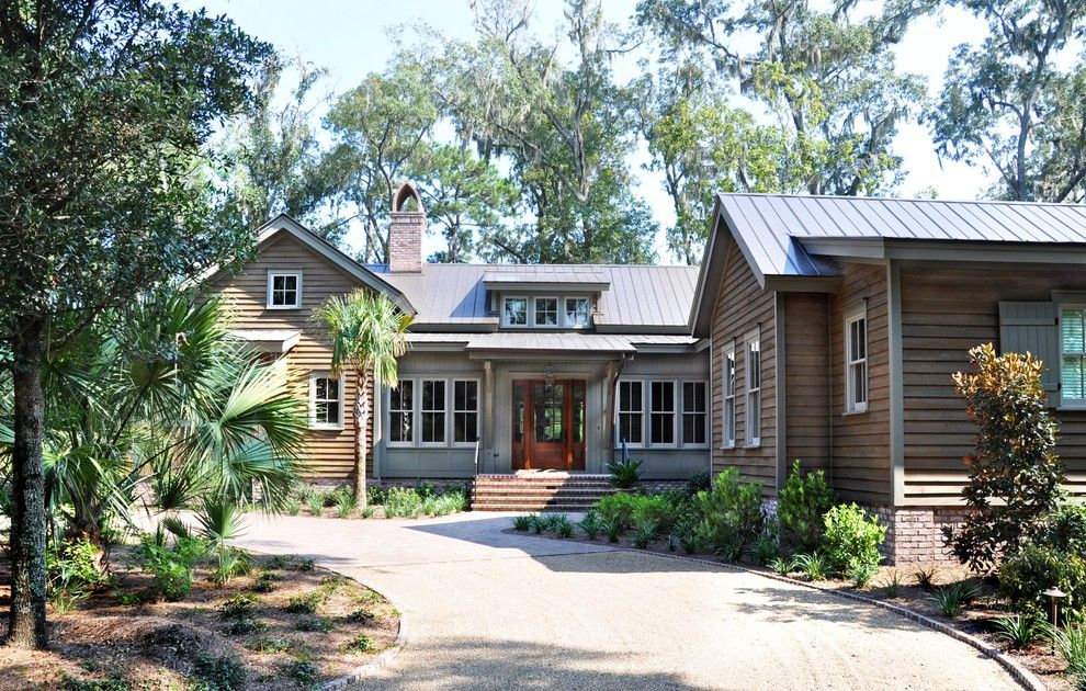 Palmetto Exterminators for a Traditional Exterior with a Dormer Window and Exterior Elevation by Hansen Architects, P.c.