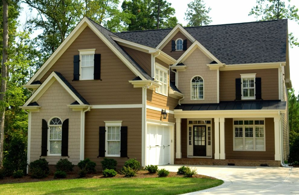 Palmetto Exterminators for a Transitional Exterior with a Replacement Windows and Exterior Windows by Earthwise Windows and Doors