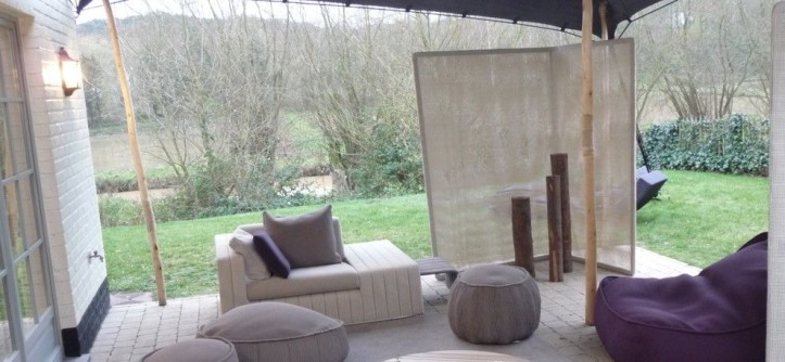 Paola Lenti for a Contemporary Patio with a Patio Furniture and PAOLA LENTI - SHOWROOM - Selection Collection by Escale Design