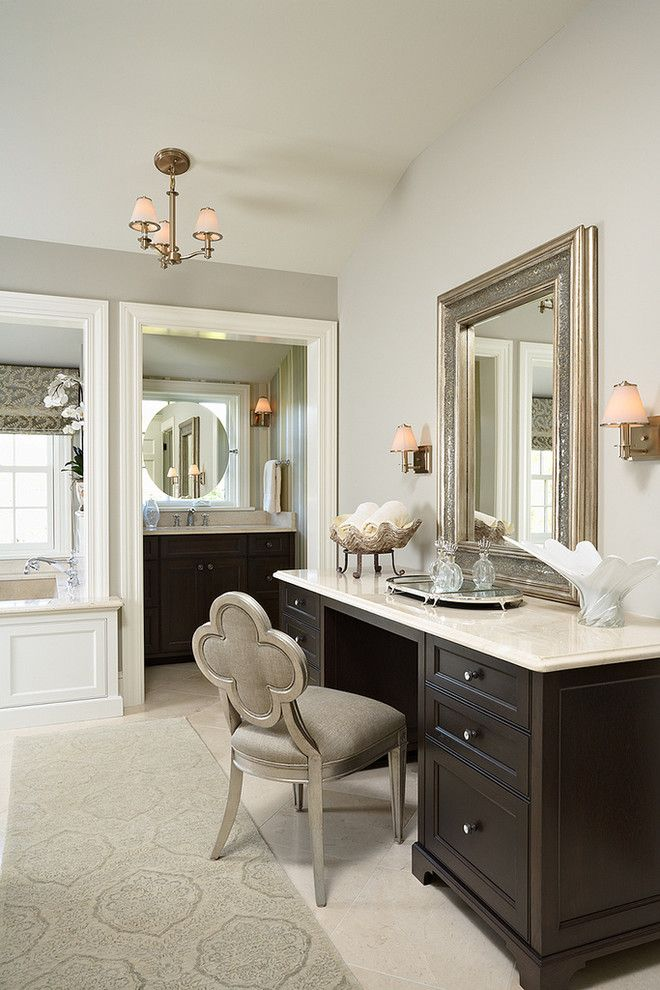 Parade of Homes Mn for a Traditional Bathroom with a Vanity Chair and 2012 Parade of Homes Dream Home Edina, Mn by Erotas Building Corporation