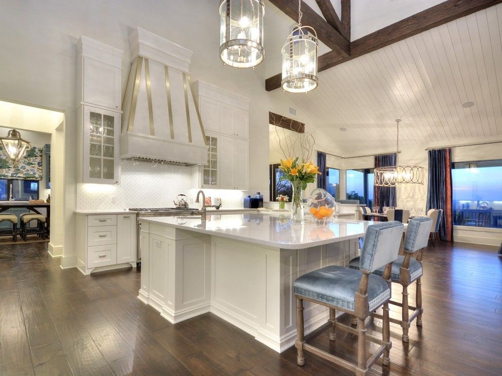 Parade of Homes Mn for a Transitional Kitchen with a Wood Beams and Best of Show   Parade of Homes by by Design Custom Home Concierge