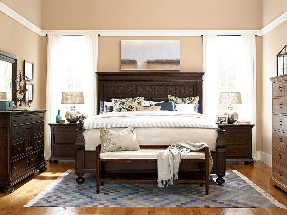 Paula Deen Lemonade for a Traditional Bedroom with a Queen and Paula Deen's Down Home Bedroom Collection by Star Furniture
