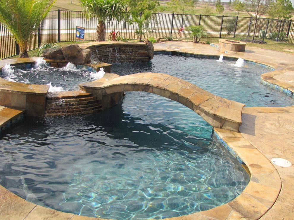 Pebble Sheen for a  Pool with a Worlds Greatest Pools and World's Greatest Pools 2013 Summer Entries by Pebble Tec Superior Quality Pool Finishes
