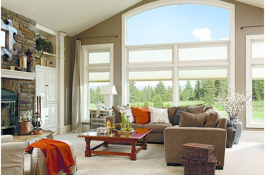 Pella Corporation for a Contemporary Living Room with a Energy Efficient and Designer Series Projects by Pella Doors and Windows of Northern California