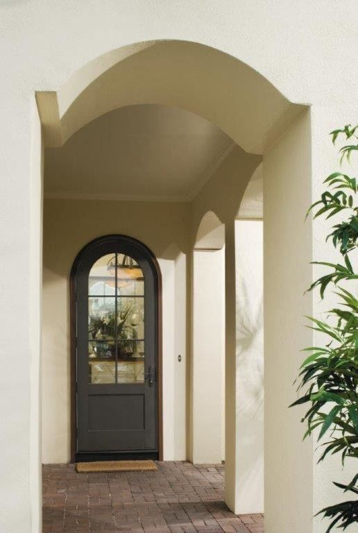 Pella Corporation for a Mediterranean Porch with a Architect Series and Wood,Patio Door by Pella Doors and Windows of Northern California
