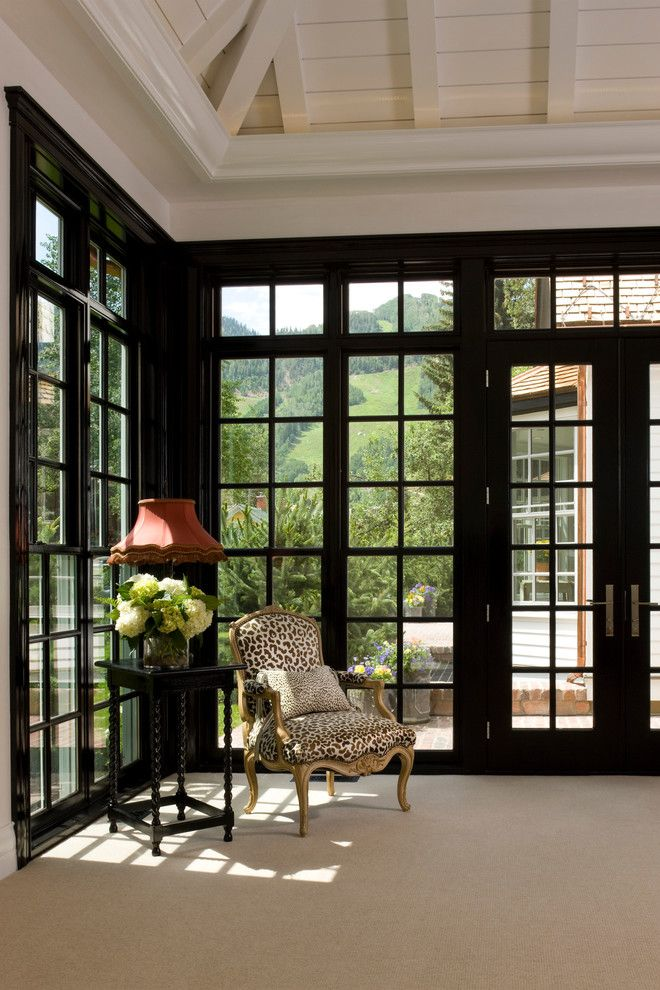 Pella Windows and Doors for a Traditional Bedroom with a French Doors and Bleeker Street Historic Renovation by Rybak Architecture & Development, P.c.