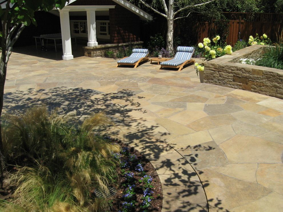 Peninsula Building Materials for a Contemporary Patio with a Relaxed and Completed Projects by Peninsula Building Materials
