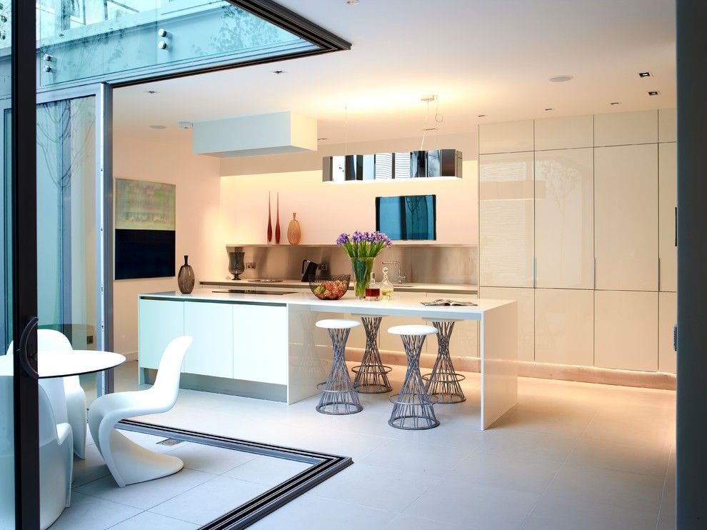 Peoples United Bank for a Contemporary Kitchen with a Luxury Living and Callender Howorth   Devonshire Mews West by the Art of Bespoke