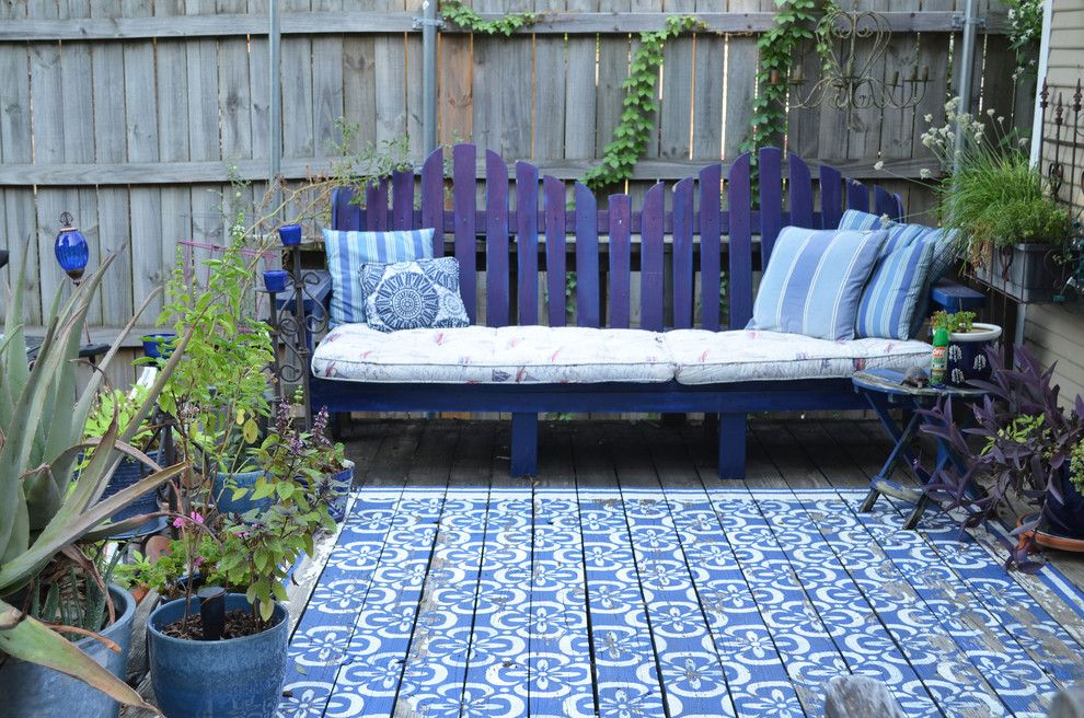 Perch Furniture for a Traditional Deck with a Diy and Dallas, Tx: Alun & Selena Urquhart by Sarah Greenman