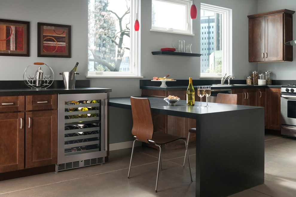 Perlick for a Contemporary Kitchen with a Undercounter Wine Storage and Perlick Refrigeration Wine Storage by Kieffer's Appliances