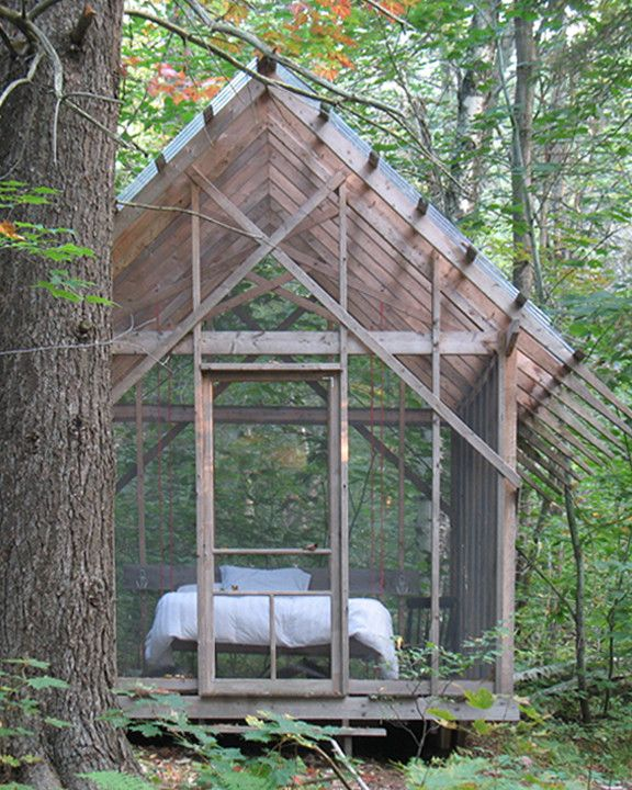 Petit Jean Properties for a Rustic Shed with a Rustic and Fern House in Summer by Bluetime Collaborative