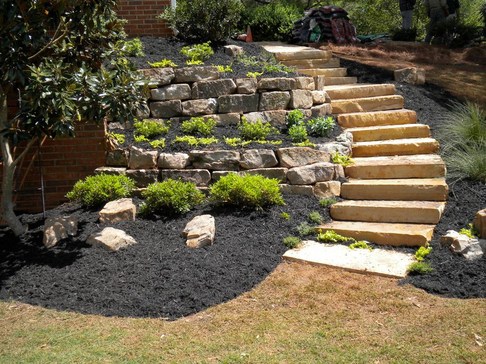 Pike Nursery for a Traditional Landscape with a Traditional and Our Work by Pike Nursery