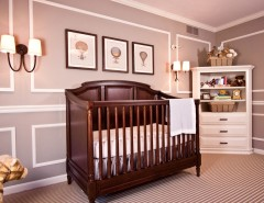 Pike Nursery for a Traditional Nursery with a Cabinets and Pepper Pike French Inspired by Reflections Interior Design