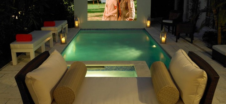 Platte Furniture for a Tropical Pool with a Tropical and Historic Tropical by Campion Platt Interiors