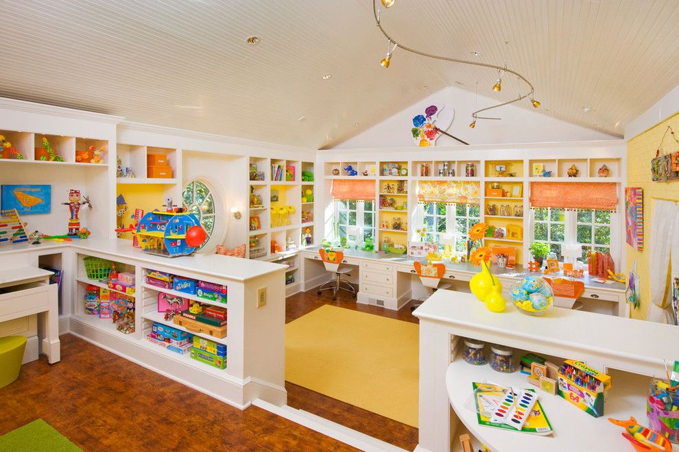 eclectic crafts room. playrooms for a transitional kids with craft room and by margaret l eclectic crafts y
