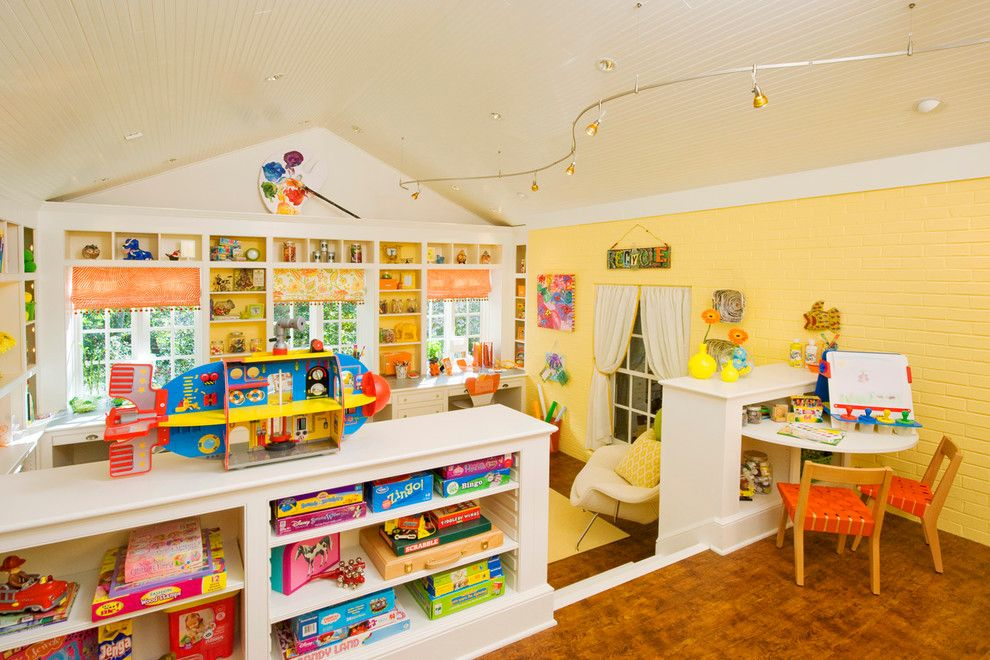 Playrooms for a Transitional Kids with a Craft Room and Kids Craft Room by Margaret L. Norcott, Allied Asid