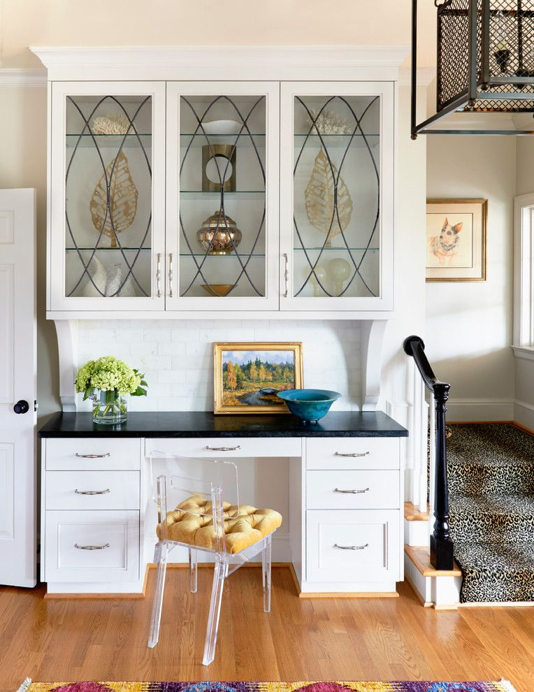 Plexi Craft for a Transitional Home Office with a Accessories and Southern Grace by Urban Home Magazine