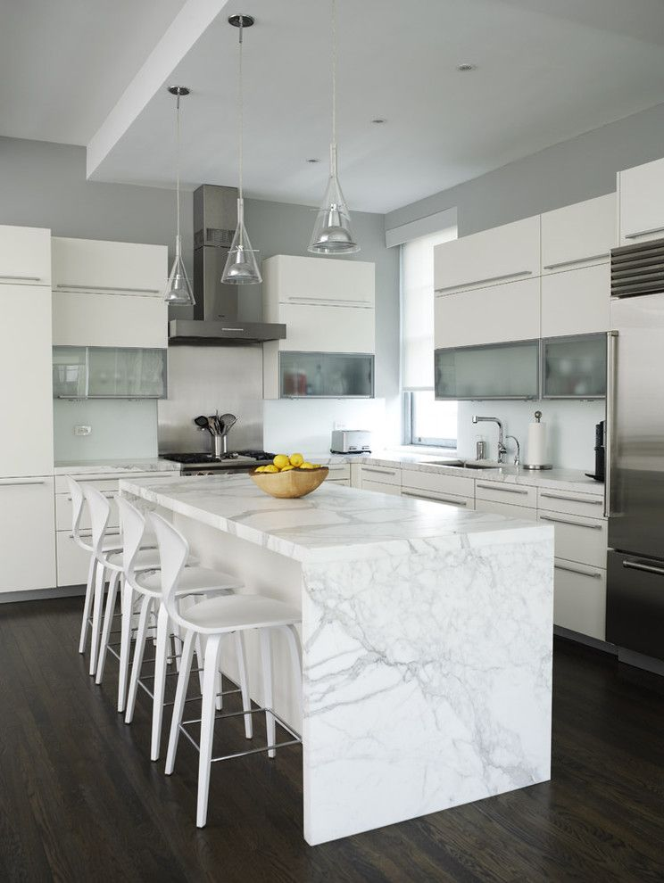 Poggenpohl for a Contemporary Kitchen with a Stainless Steel Appliances and Ny Loft by Chelsea Atelier Architect, Pc