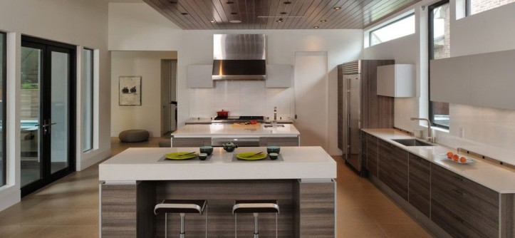Poggenpohl for a Modern Kitchen with a Kitchen Island and Poggenpohl by Poggenpohl
