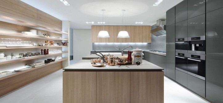 Poliform for a Contemporary Kitchen with a Italiandesign and Poliform - Varenna Artex Collection by Poliform Houston