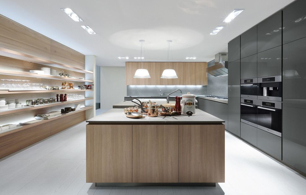 Poliform for a Contemporary Kitchen with a Italiandesign and Poliform   Varenna Artex Collection by Poliform Houston