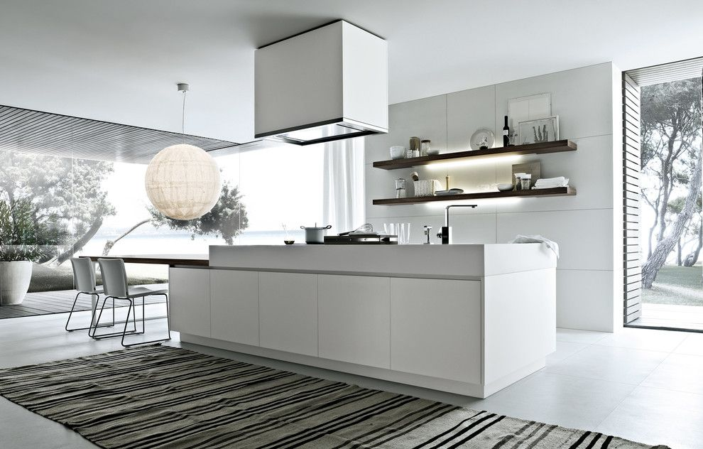 Poliform for a Contemporary Kitchen with a Poliform and Poliform Varenna   Alea by Poliform Houston