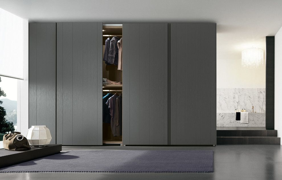 Poliform Usa For A Contemporary Closet With A Stratus And Poliform Stratus  Wardrobe By Poliform Usa