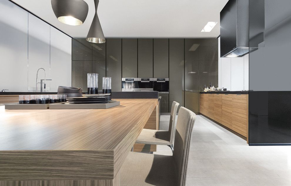 Poliform Usa for a Contemporary Kitchen with a Kitchen and Varenna Kitchens by Poliform Usa