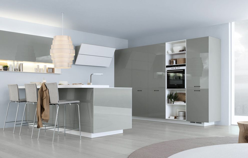 Poliform Usa for a Contemporary Kitchen with a Modern Kitchen and Kyton Kitchen by Poliform Usa