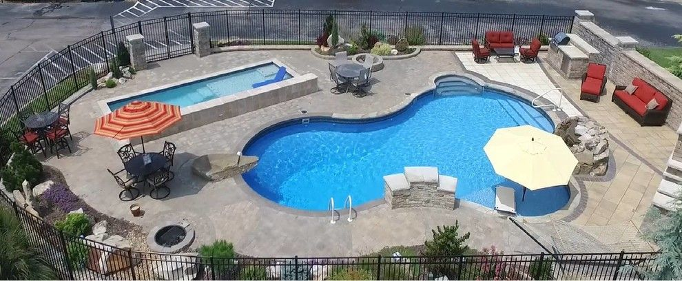 Pool and Spa Depot for a Southwestern Pool with a Inground Pools and Inground Pools by Pool and Spa Depot Inc.,
