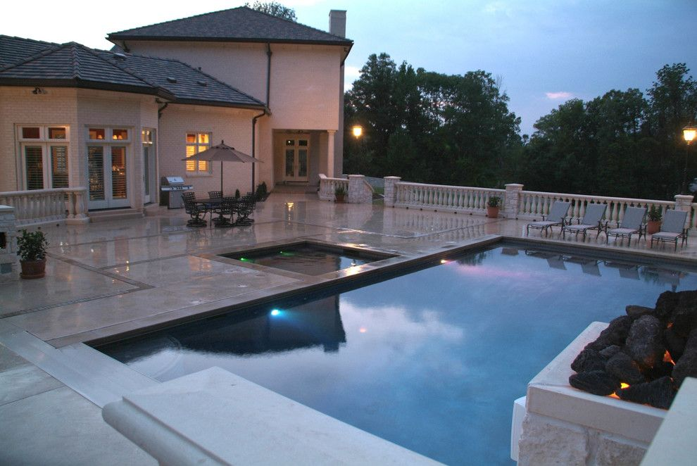 Pool and Spa Depot for a Traditional Pool with a Outdoor Living and Inground Pools by Pool and Spa Depot Inc.,