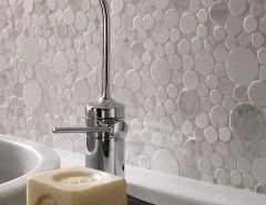 Porcelanosa for a Modern Bathroom with a Porcelanosa Tile and Porcelanosa Mosaico Moon Wall Tiles by Porcelanosa