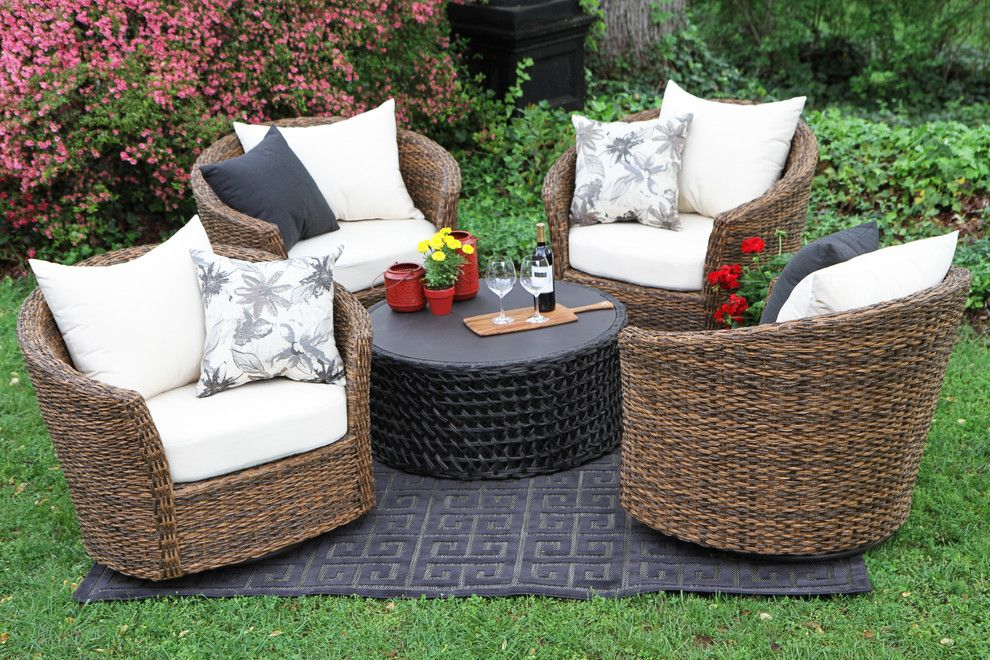 Potomac Garden Center for a  Patio with a White Pillow and AE Outdoor by AE Outdoor