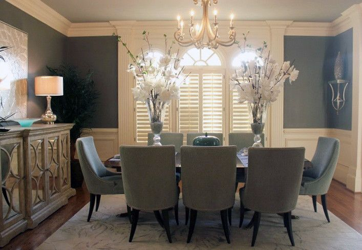 Precedent Furniture for a  Dining Room with a Upholstered Dining Chair and Dining Room   Precedent Furniture by Luxe Home Philadelphia