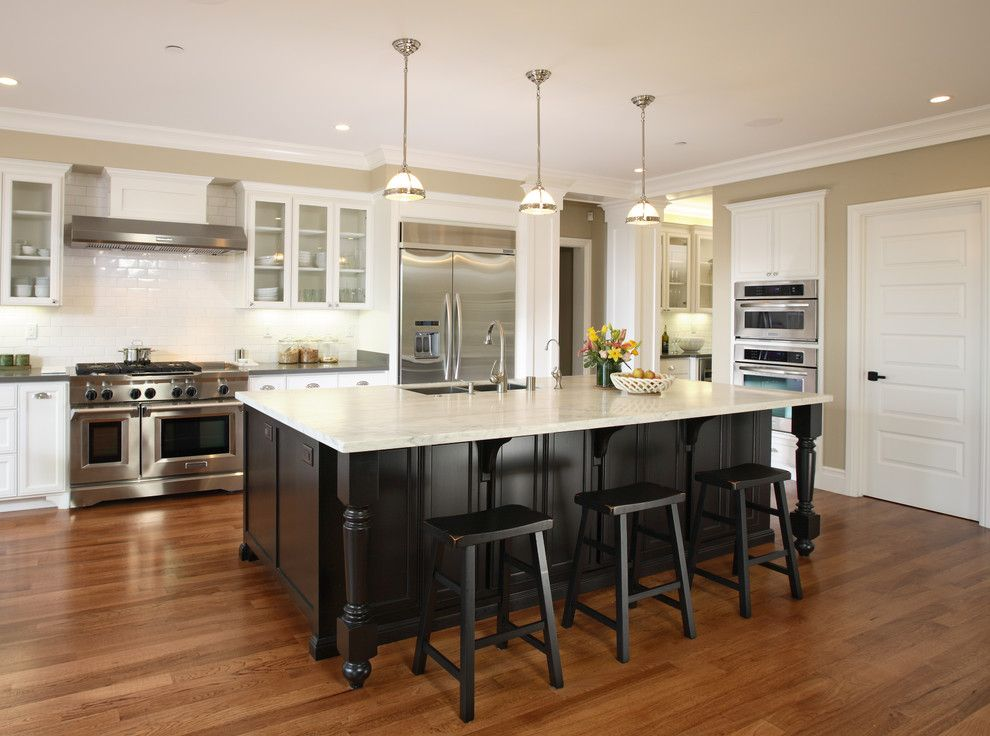 Precision Countertops for a Traditional Kitchen with a Remodel and #53   Owner   Los Altos by Precision Cabinets