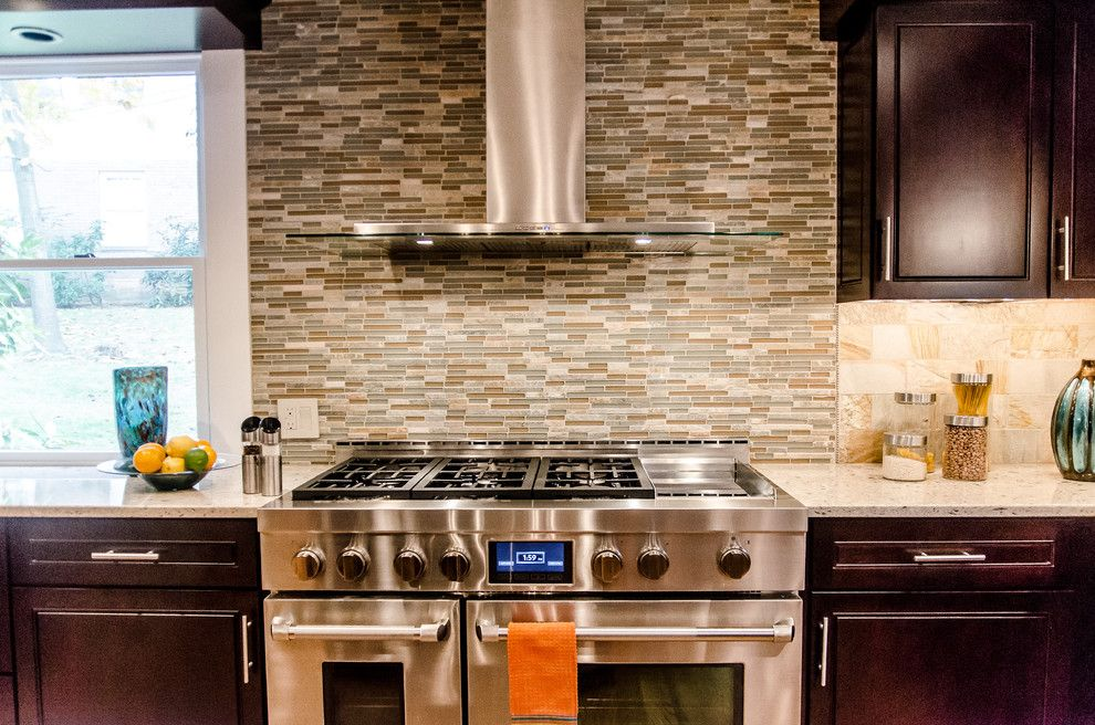 Probuild for a Eclectic Kitchen with a Glass Tile and Pro Builders   Kitchen Portfolio by Pro Builders