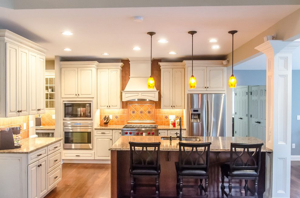 Probuild for a Traditional Kitchen with a Quartz Counter Top and Shorb Residence by Pro Builders