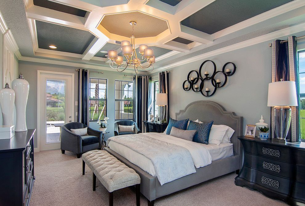 Prosource Orlando for a  Bedroom with a Framed Photos and Interior Design Gallery by Masterpiece Design Group