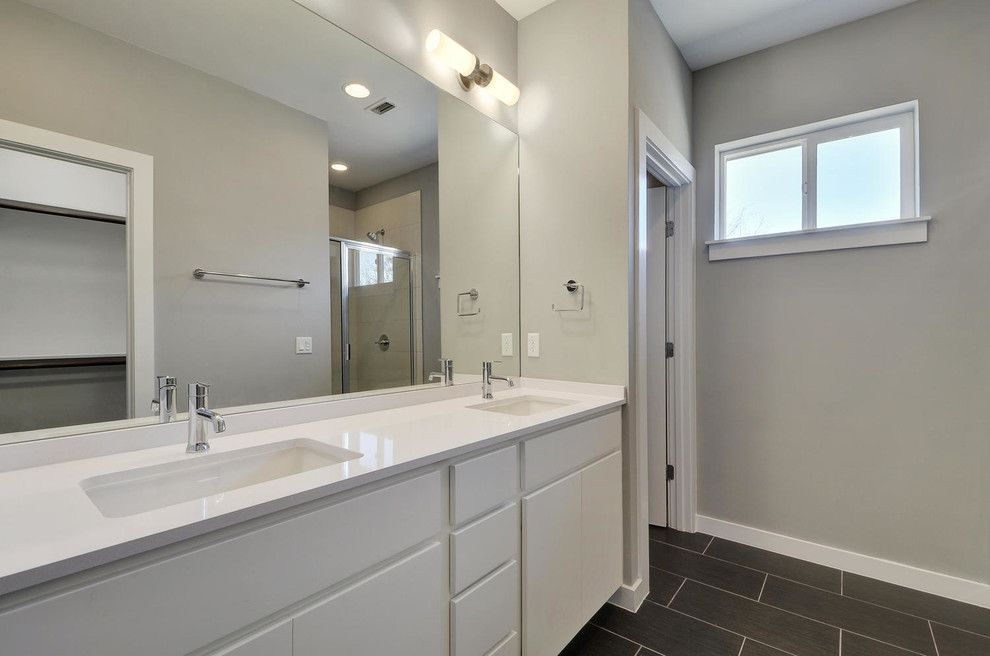 Psw Real Estate for a Modern Bathroom with a Energy Efficient Appliances and Sweetbriar by Psw Real Estate