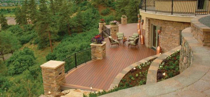 Psw Real Estate for a Rustic Deck with a Fiberon Deck and Fiberon by Fiberon Decking