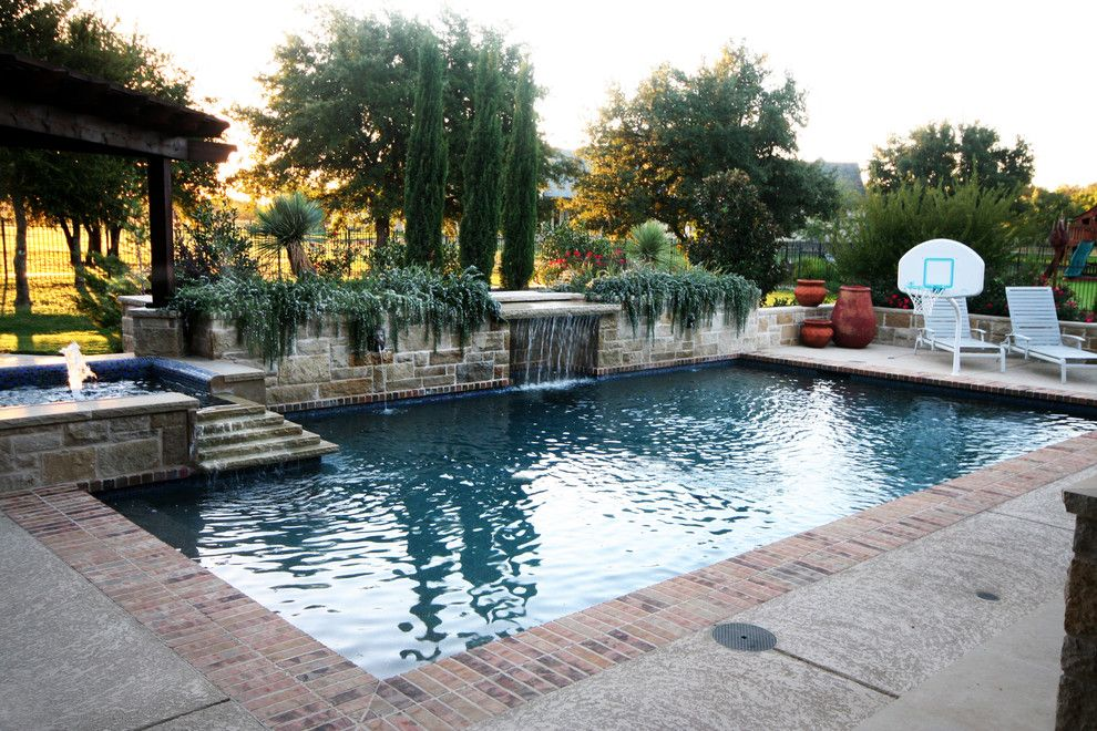 Pulliam Pools for a Traditional Pool with a Traditional and Pools by Pulliam Pools
