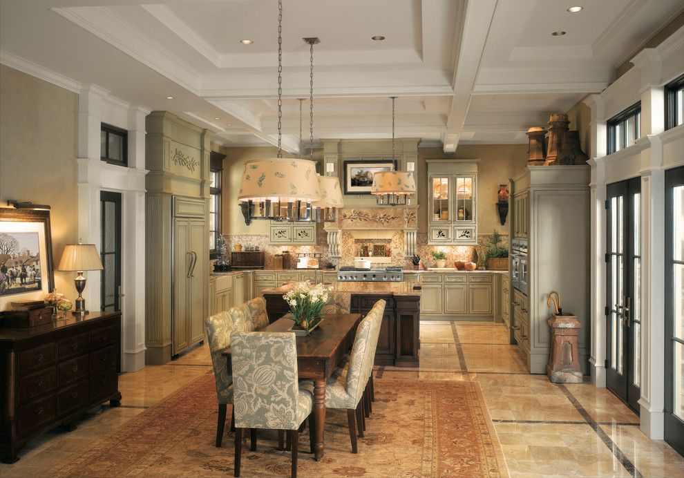 Queen City Appliance for a Traditional Kitchen with a Carved and Ge Monogram Kitchens by Monogram Appliances