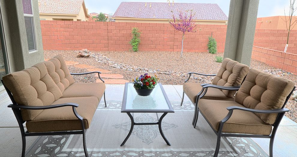 Raylee Homes for a Southwestern Patio with a Southwestern and Our Homes by Raylee Homes