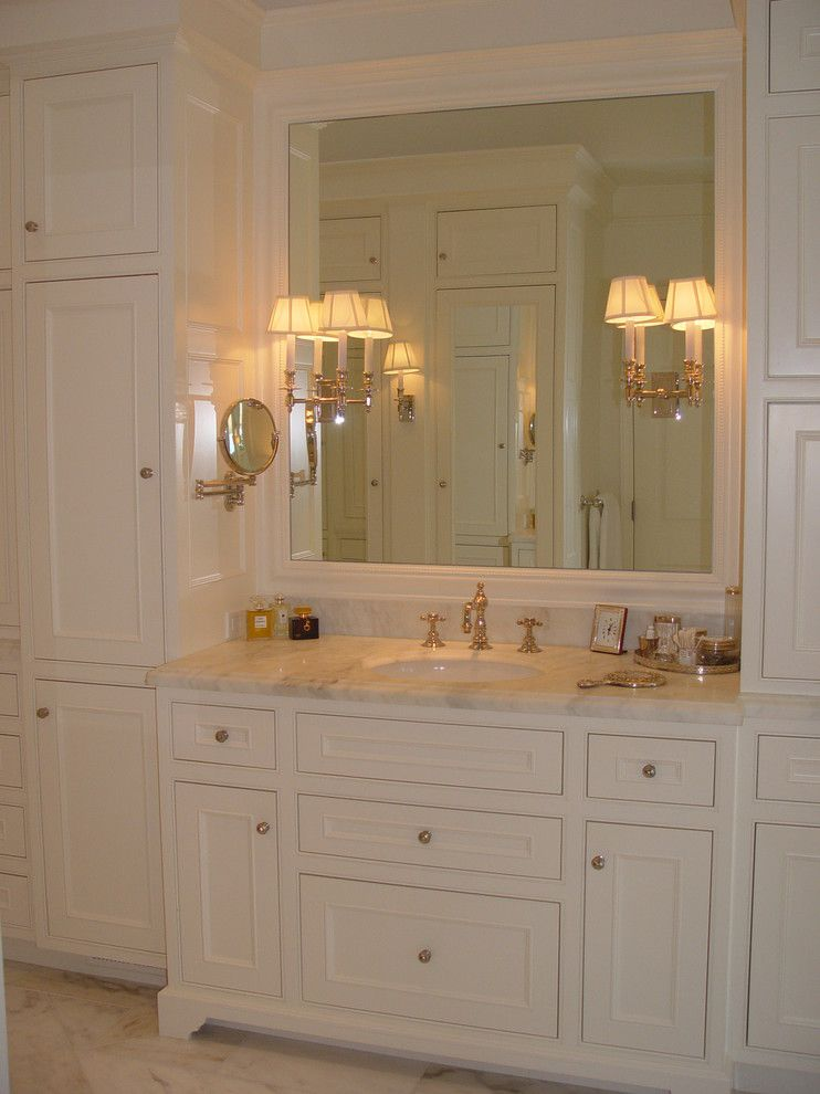 Raylee Homes for a Traditional Bathroom with a Swing Arm Mirror and Alamo Residence by Home Systems , Wendi Zampino