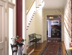 Recessed Lighting Layout for a Traditional Entry with a Entry Hall and Entrance Hall by Melville Thomas Architects, Inc.