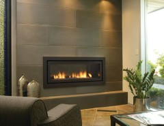 Regency Fireplace for a Contemporary Living Room with a Contemporary and Gas Fireplaces and Inserts by Rustic Brick and Fireplace
